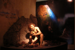 Diorama Neanderthal