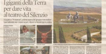 Servizio sul Tirreno, quotidiano regionale